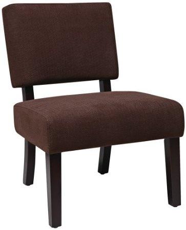 Best Amazon Com Jasmine Finesse Azure Cushioned Accent Chair 640 x 480