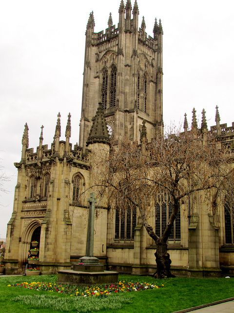 Manchester Cathedral, England
