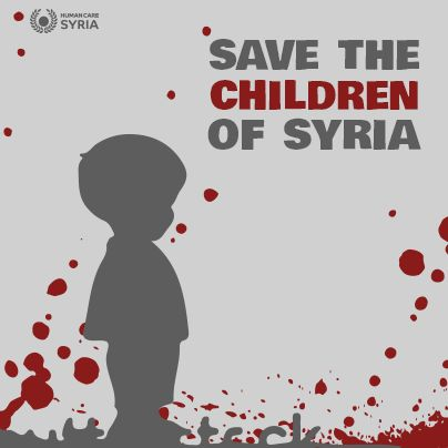 Syrian Children are the real victims!!!! Support the children and Orphans today. Please take a few minutes and sign up to sponsor a Syrian child today. http://www.humancaresyria.org/work/children