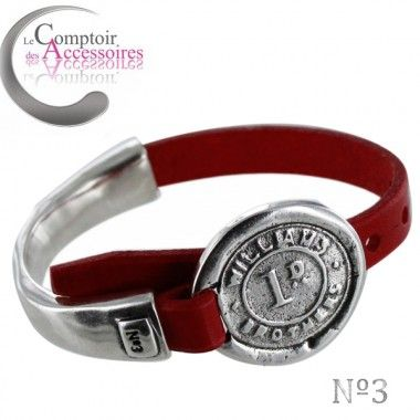 http://www.comptoirdesaccessoires.com/7111-3541-thickbox/bracelet-atelier-numero-3-piece-en-acier-et-argent-sur-cuir-rouge-collection-ete-2015.jpg