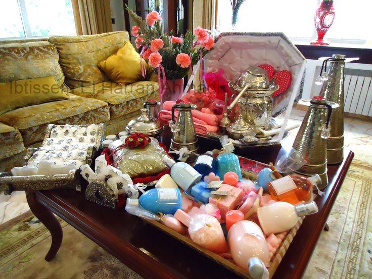 pr paratifs mariage tunisien hammam henn d coration organisation fian ailles pinterest. Black Bedroom Furniture Sets. Home Design Ideas