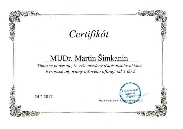 Mudr. martin šimkanin - Medical Institut