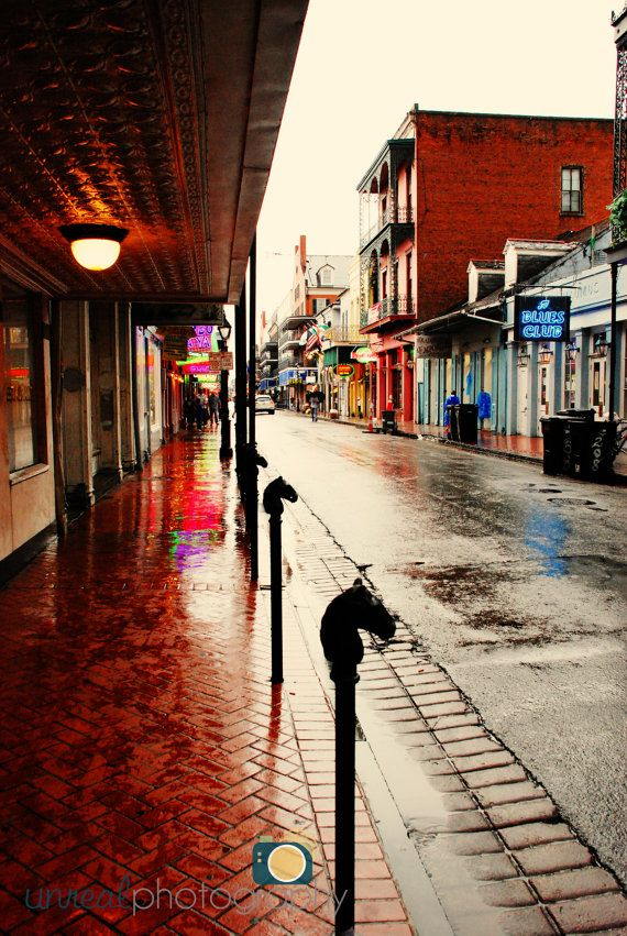 Bourbon Street ~ New Orleans, Louisiana