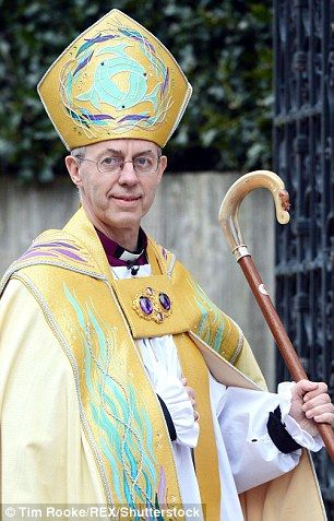 The 'shared conversations' will include the Archbishop of Canterbury, the Most Reverend Justin Welby, pictured, and his fellow bishops
