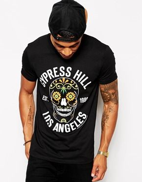 Enlarge ASOS T-Shirt With Cypress Hill Print