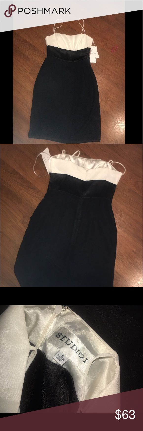 Black and white formal dress NEW WITH TAGS STUDIO I Dresses