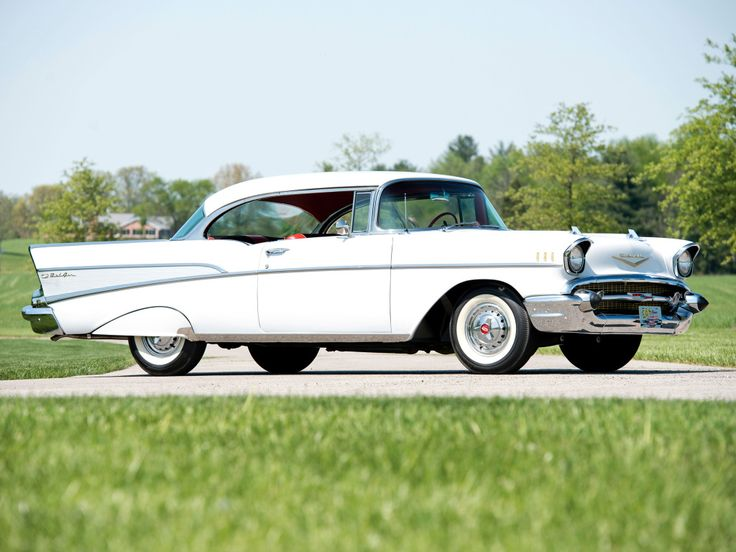 1957 Chevrolet Bel Air Sport Coupe (2454-1037D)