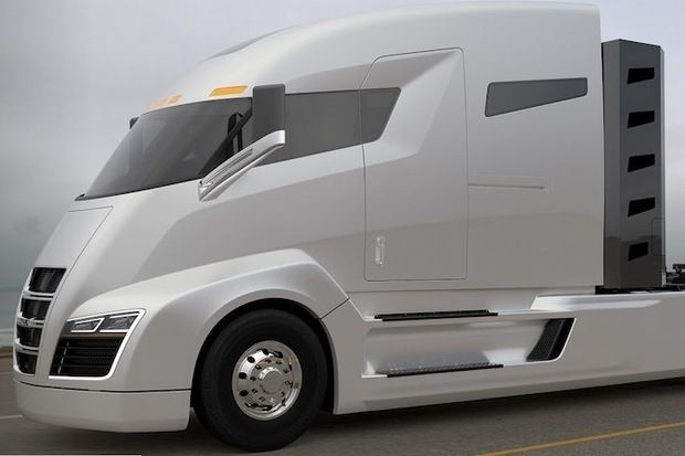 Nikola Motor Co. to release 2,000HP hybrid semitrailer truck