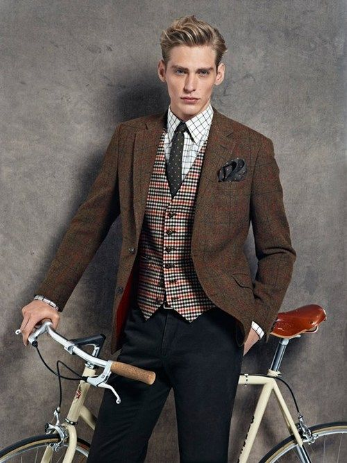 Vintage meets collegiate preppy style - j'adore!!! menswear fashion style vintage