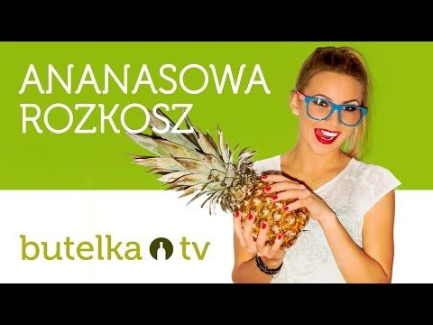 Rozkosz każdej kobiety - drink ananasowy