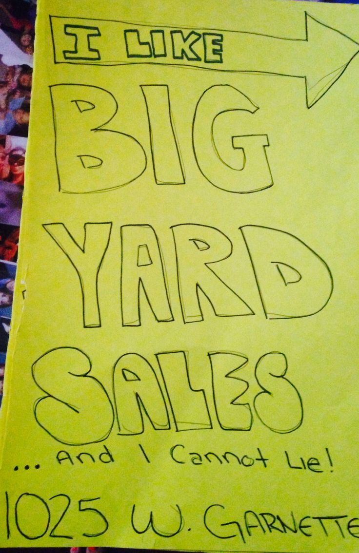 yard sale signs funny epic yard sale signs pinterest. Black Bedroom Furniture Sets. Home Design Ideas