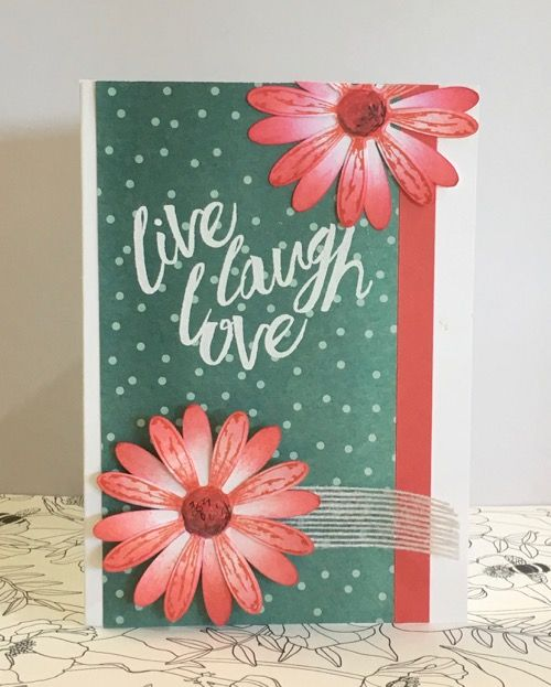 Ann Craig Independent demonstrator Stampin' Up! Samples of hand stamped cards and creative paper craft. Purchase products. Join Stampin Up.