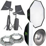 HAVE:  Studio Lighting Gear.  Scott Kelbys suggested light set up. Now i need to learn how to use it.