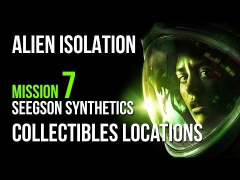 Alien Isolation Mission 7 Collectibles Locations Guide – VGFAQ
