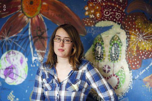 Anne-Charlotte, 22 ans, en L3 de psychologie à Paris-Descartes - 2012