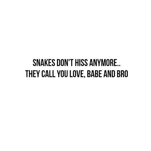 Deep Quotes About Lying Snakes