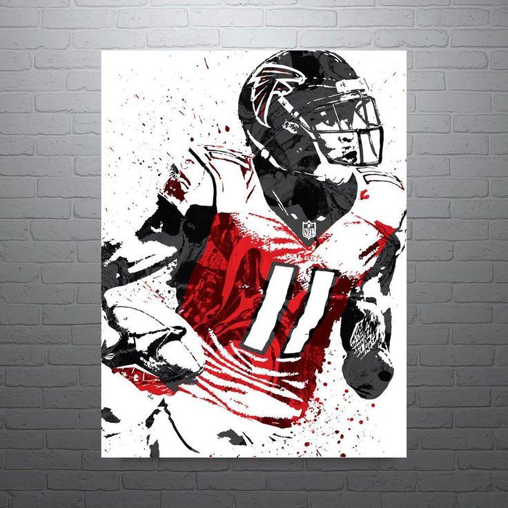 Julio Jones Atlanta Falcons Poster
