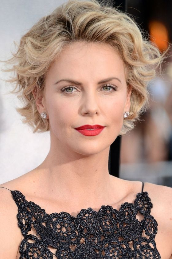 Charlize Theron Short Hair 2014 | Festival Hairstyles: The Best Celebrity Inspiration