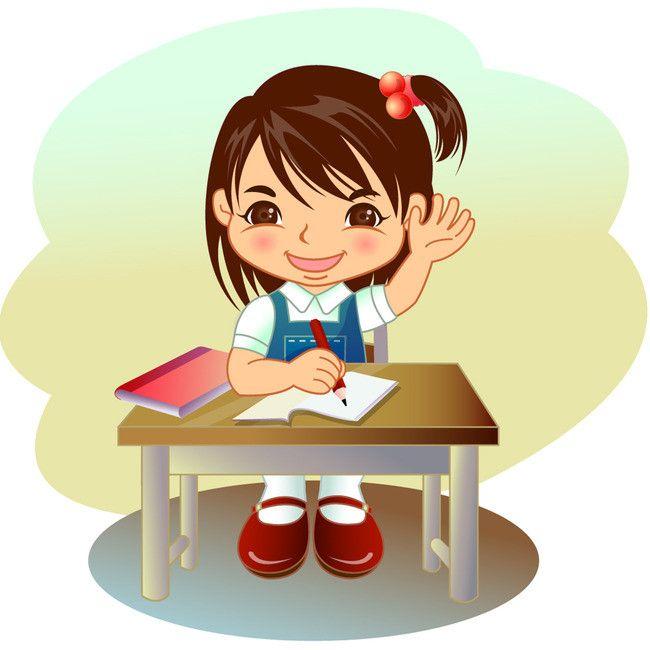 كرتون قلم رصاص المدرسة طالب في مدرسة الكتابة ناقلات Student Life Kids Clipart Cartoon Clip Art