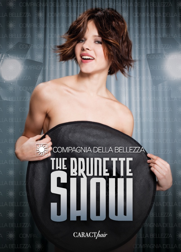 Compagnia della #Bellezza. #CARACThair: The #Brunette Show. Short #Hairstyle.