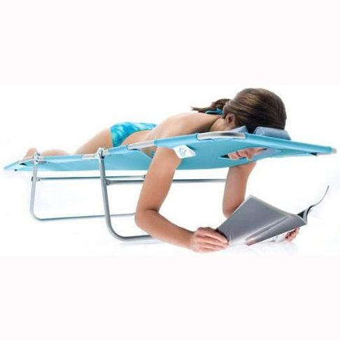 73 best images about reclining posture laptop stand on for Chaise lounge beach