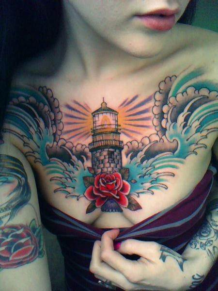 CAITLIN :: Inked Girls :: lighthouse tattoo | Lighthouse ...