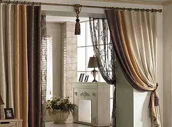 Шторы на двери и дверные проемы. Классический и современный дизайн межкомнатных штор.