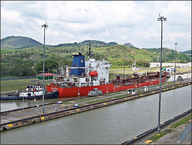 """""""Panama Canal, Panama"""" vía @Therese Sunngren Beck"""