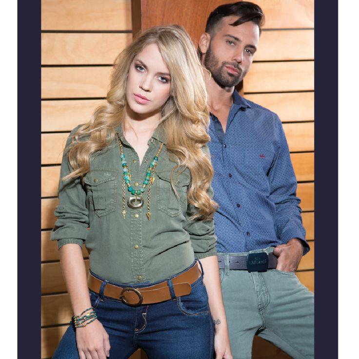 Lleva SAK y disfruta de prendas cómodas que a la vez marcan la tendencia #sakdenim #clothingbrand #ilovesak #newarrivals #camisa #nuevacoleccion #denim #militar #fashion #menstyle #dailyfashion #casuallook #womanswear #womanstyle #lovefashion #clothing #shirt #jeans