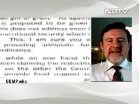 Nidhi Razdan being ripped apart by British MP Barry Gardiner. #India #Gujarat #NDTV