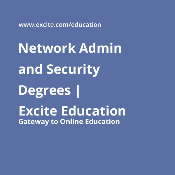 A number of regular and online schools offer Network Security degree programs. These include associate, bachelors as well as master's degrees. An associate's degree typically takes 2 years to complete while you can earn a bachelor's degree in 4 and master's degree in 1-2 years respectively. I  http://excite.com/education