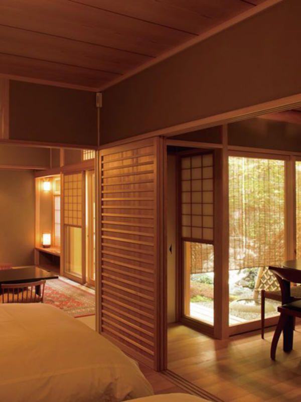 Japanese-style inn, Kyoto, Japan