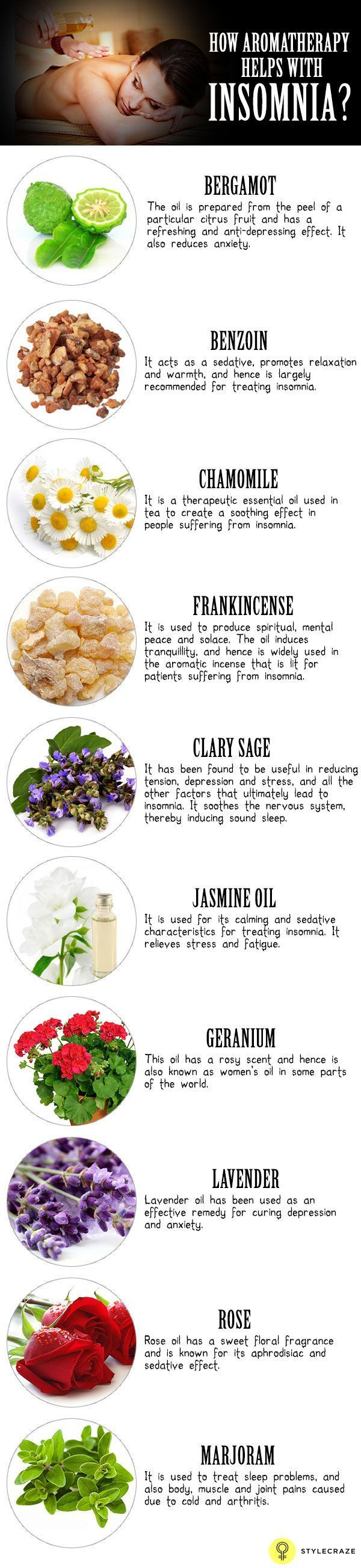Aromatherapy For Insomnia Or Sleeping Disorders