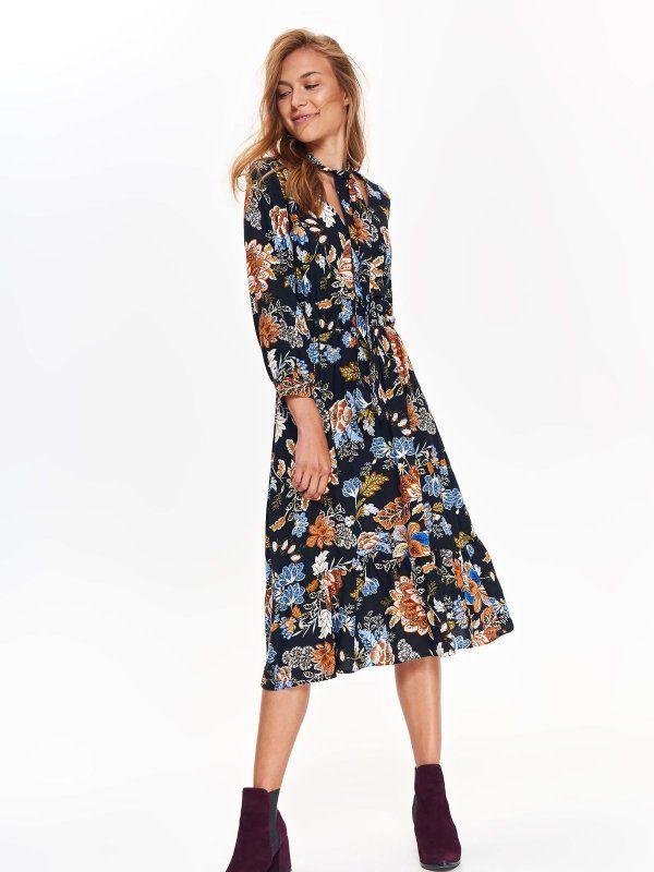 dafe5760 Sukienka damska kolorowa - sukienka - TOP SECRET. SSU2463 Świetna ...