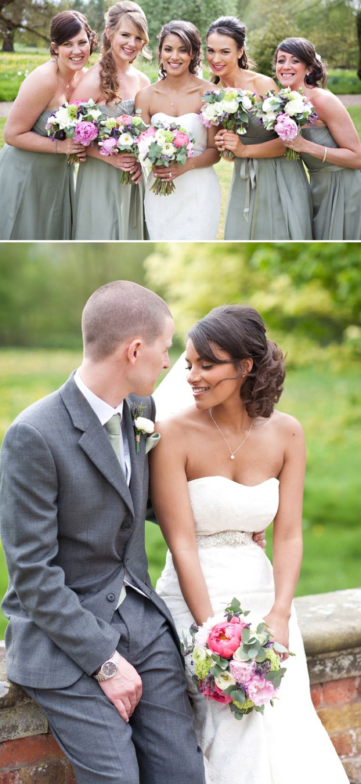 68 best sage and champagne images on pinterest clothes dress in an elegant english country wedding at iscoyd park with a lace fishtail wedding dress by claire ombrellifo Choice Image