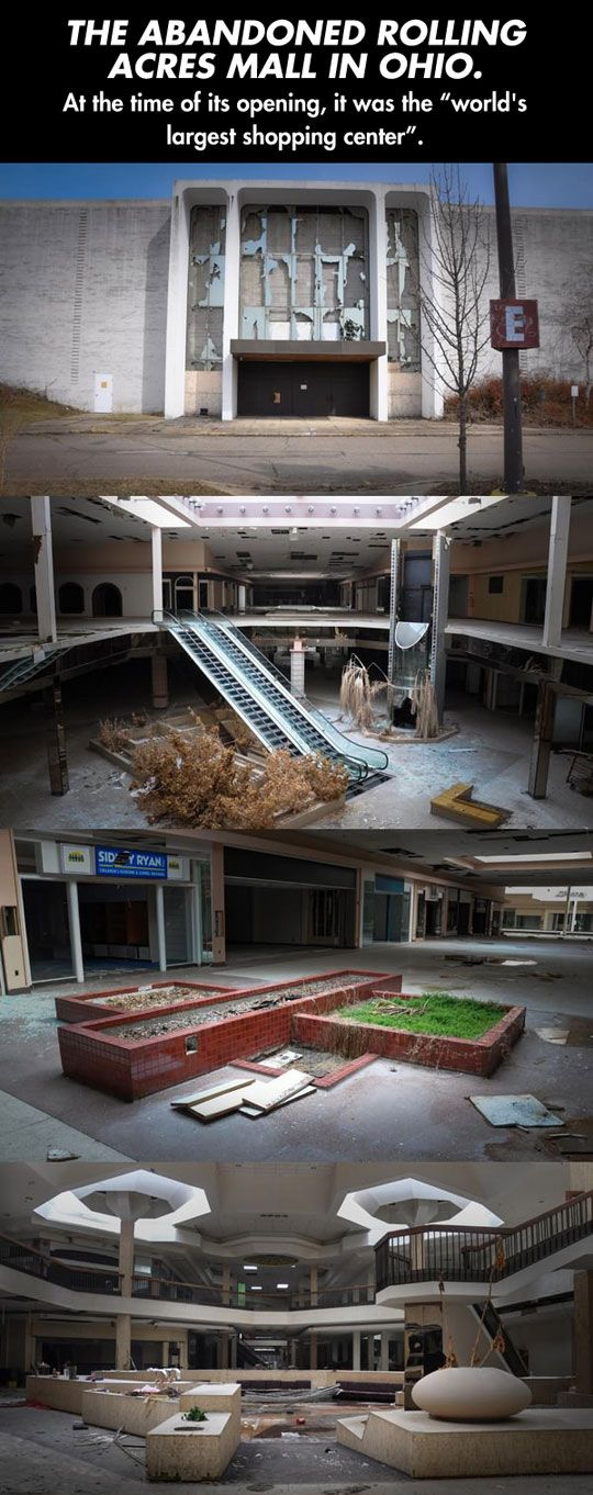 An Abandoned Mall In OhioSad 88 best