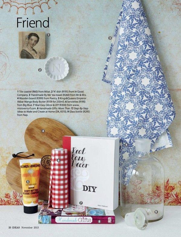 Available at Sugarbush Boutique :-) REDD PRESS Ideas Magazine November 2013