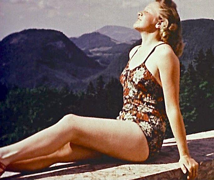 Eva Braun Nude Sunbathing - Porn Website Name