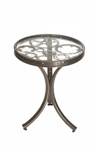 End Table | Bicycle Parts | The ReCYCLER http://therecycler.ca --- Also can be a DIY project ---