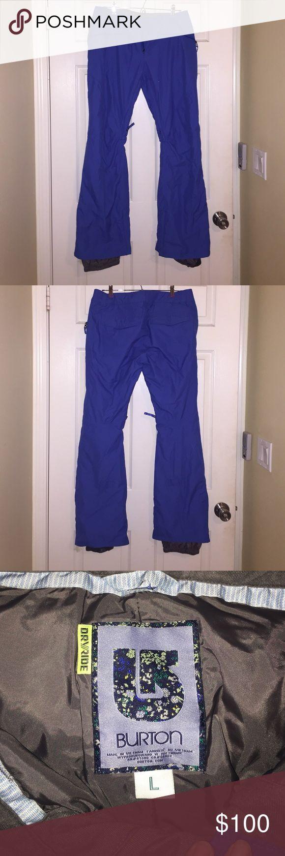 Burton snowboard pants Worn once Burton Pants