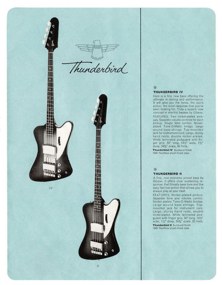 67 best Fender bird bass images on Pinterest | Bass guitars, Vintage ...