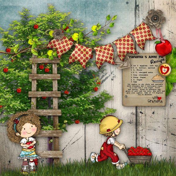 MegaBundle Applemania by #PatyGreif