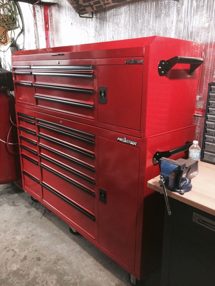 97 best images about tool boxes on pinterest workbenches harbor freight tools and garage. Black Bedroom Furniture Sets. Home Design Ideas