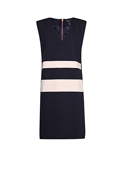 MANGO - Contrasted stripes dress