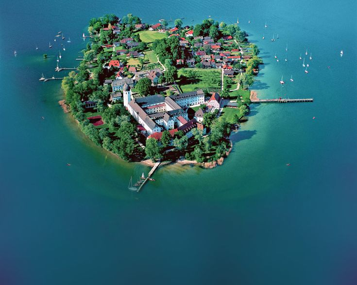 Chiemsee (Bayern) - Fraueninsel