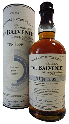 Balvenie Tun 1509 Batch No.1 47.1% 70cl: Balvenie Whisky Cardboard Tube 70cl / 700ml Cet article Balvenie Tun 1509 Batch No.1 47.1% 70cl…
