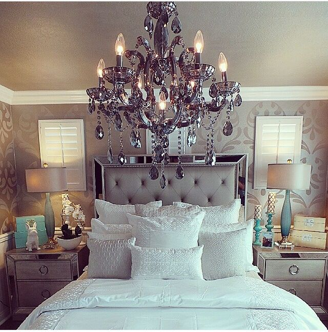 Bedroom Decorating Ideas Silver 23 best images about bedroom decorating on pinterest | closet