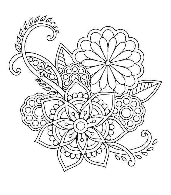 114 best Mandala images on Pinterest | Coloring pages ...