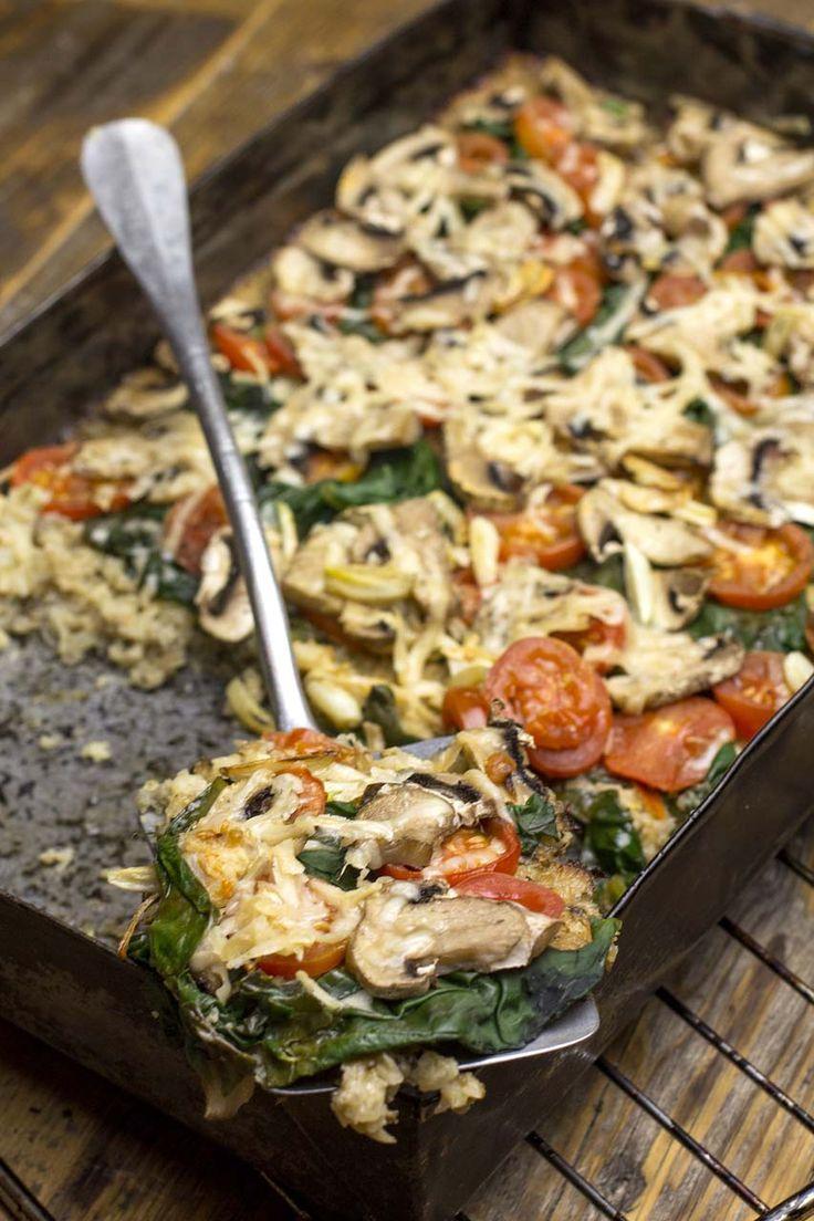 Karfiol Pizza