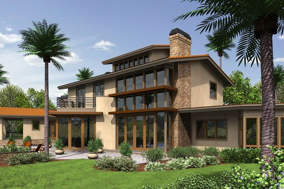 Modern Prairie style house plan. Normally I'm a fan if more traditional homes but this home's floor plan is borderline perfection!
